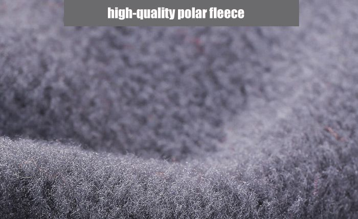 Qinglonglin Fleece Draw Cord Neckerchief Antistatic Strong Pure Color