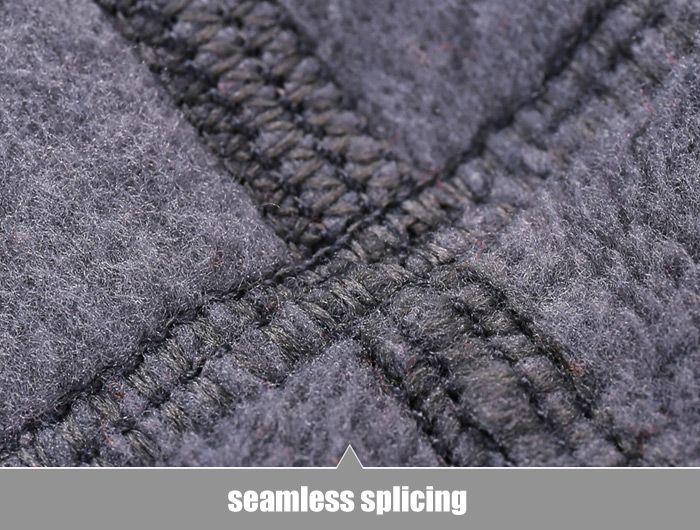 Qinglonglin Fleece Draw Cord Neckerchief Antistatic Strong Pure Color