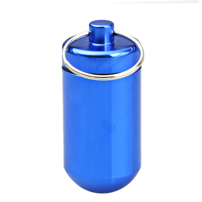 Mini Water Resistant Aluminum Alloy Cylinder Shaped Cartridge
