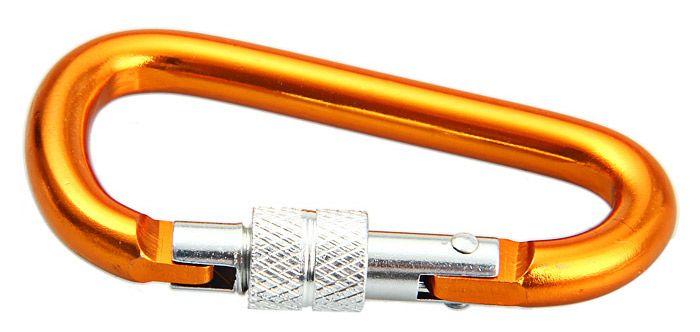 7D D-shaped Lock Carabiner Aluminum Alloy Made