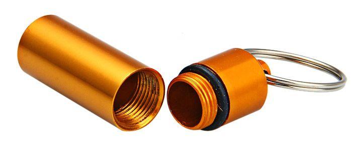 Hemispherical Bottom Aluminum Alloy Medicine Bottle Anodized Surface