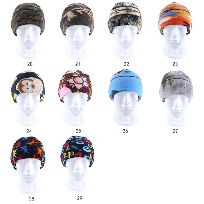 ENKAY Fleece Warm Hat Windproof Warm Double-layer Design