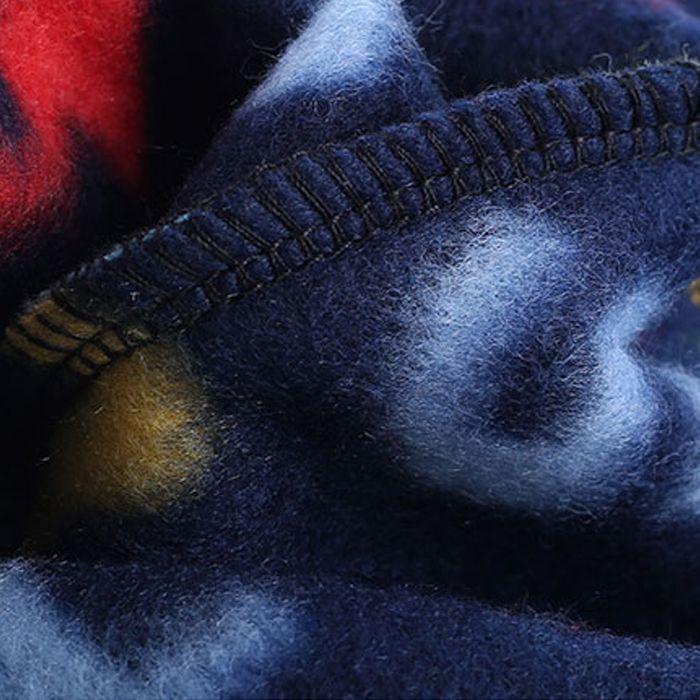 ENKAY Fleece Warm Hat Windproof Warm Double-layer Design