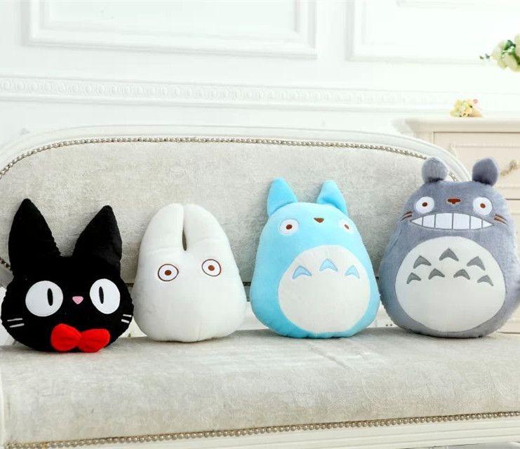Hot Sale Cat Shape Cartoon Cushion Black Pillow