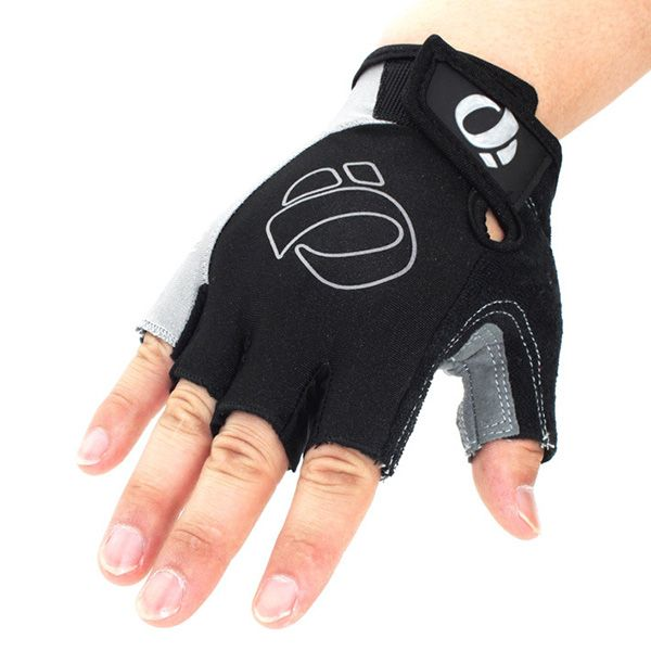 A Pair of Outdoor Sports Cycling Non-Slip Breathable Half Finger Gloves