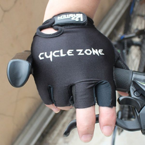 A Pair of Summer Outdoor Sports Cycling Non-Slip Breathable Half Finger Gloves