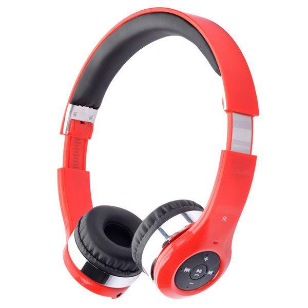 Stylish Outdoor Sports Bluetooth Speaker Mic Telescopic Foldable Headphones