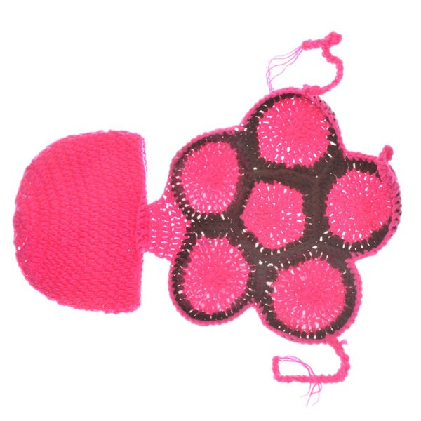 Fashion Tortoise Style Handmade Crochet Knitting Beanie Hat Clothes Set For Baby