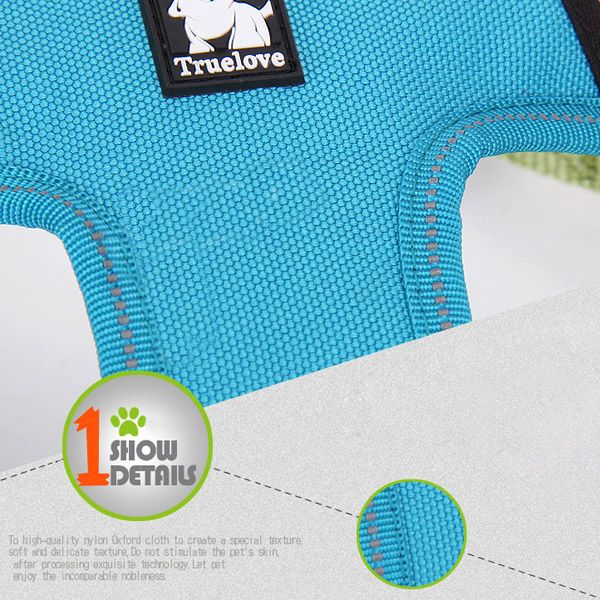 Comfortable Adjustable Breathable Reflective Dog Chest Harness Pet Vest Rope Collar