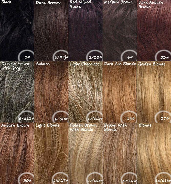 Women's Fluffy Human Hair Full Bang Long Wig