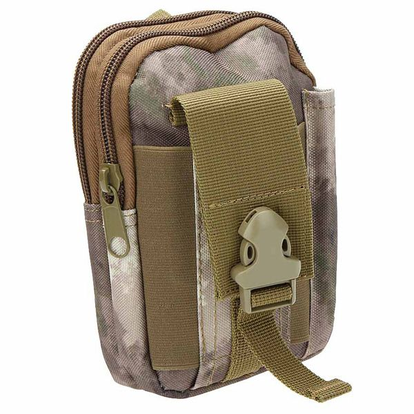 Outdoor Sports Cycling Hiking Storage Bag Camouflage Color Tactical Waist Pack