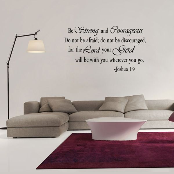 Letters Pattern Wall Sticker For Livingroom Bedroom Decoration