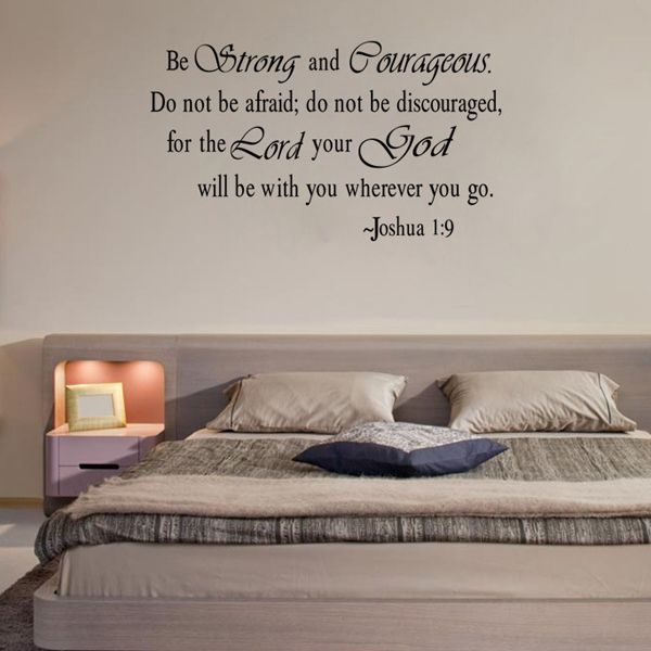 Stylish Letters Pattern Wall Sticker For Livingroom Bedroom Decoration