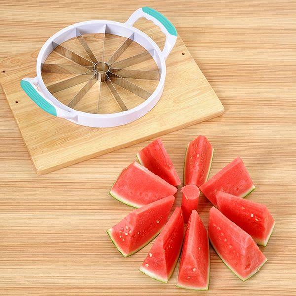 Multifunctional Kitchen Tool Round Shape Watermelon Slicer Fruit Cutter