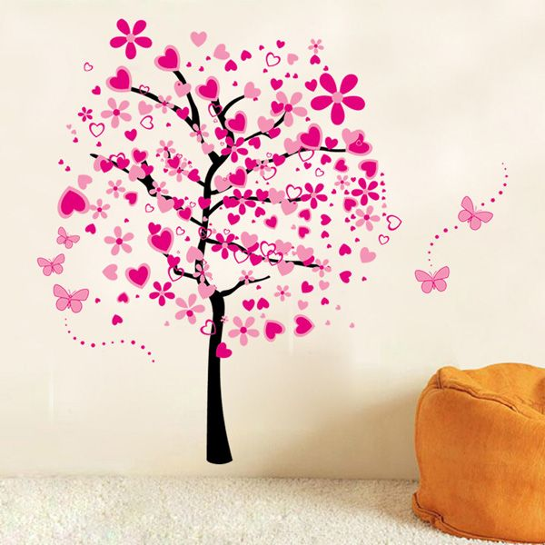 Vinyl Tree Pattern Wall Art Stickers For Kids Room