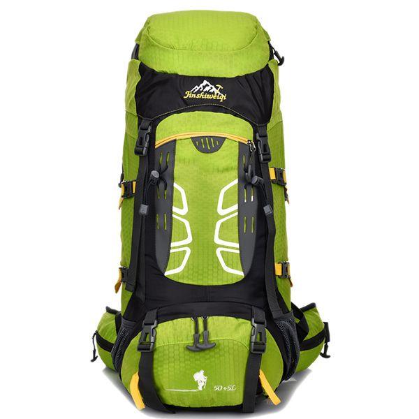 55L Large Capacity Travel Hiking Backpack Waterproof Outdoor Climbing Bag