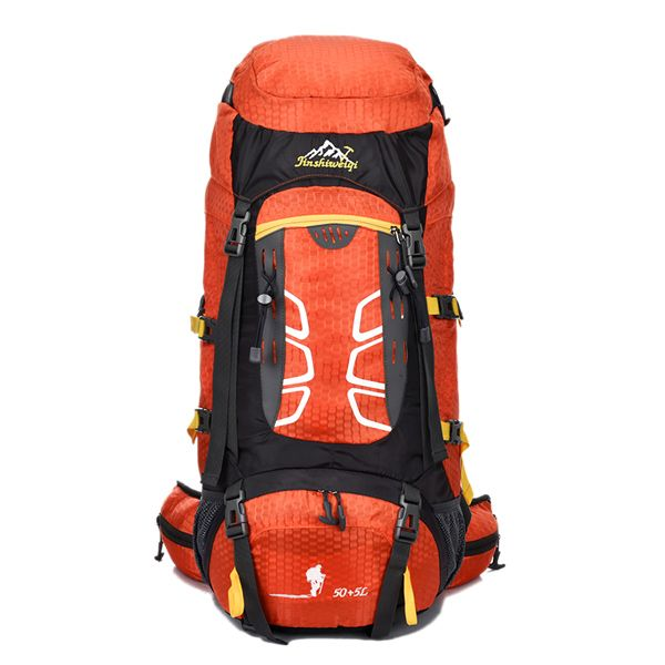 55L Large Capacity Travel Hiking Backpack Waterproof Outdoor Climbing Bag