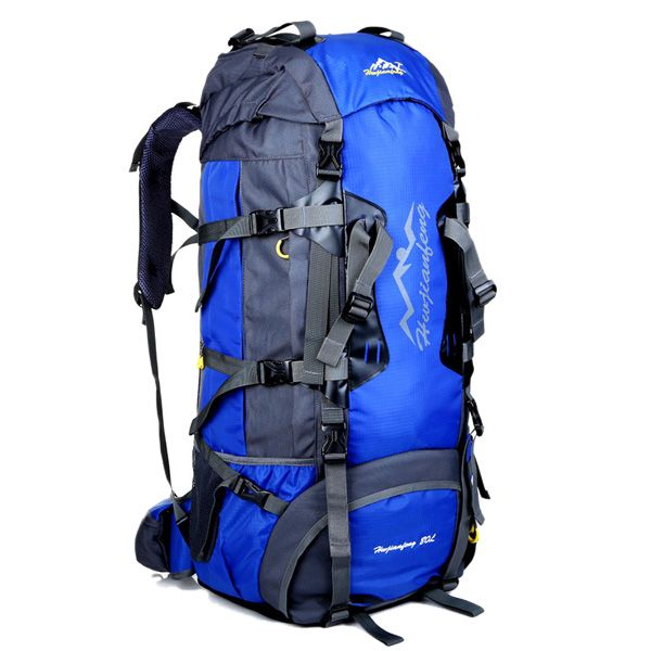 Multifunctional Waterproof Outdoor Travel Hiking Suspended Back Frame Climbing Bag