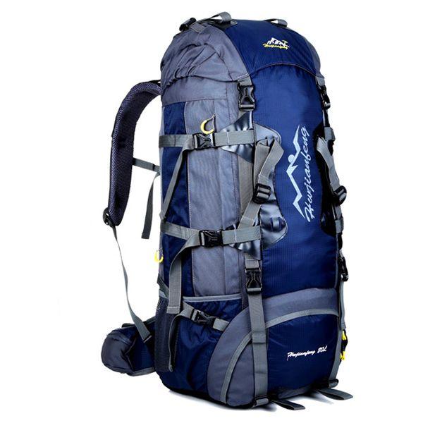 Multifunctional Waterproof Outdoor Travel Hiking Suspended Back Frame Climbing Bag