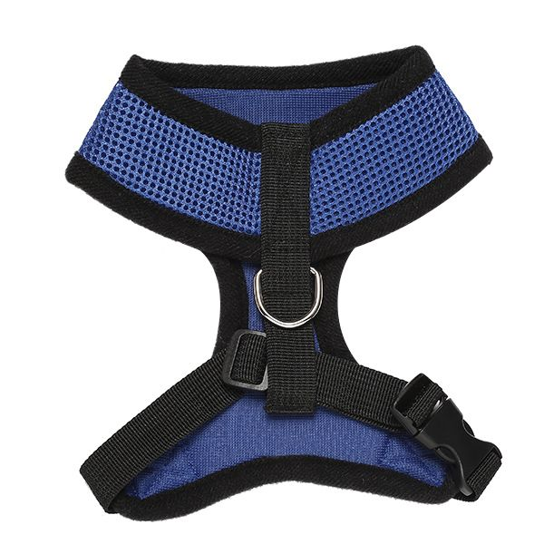 Chic Quality Solid Color Mesh Fabric H Section Dog Chest Straps