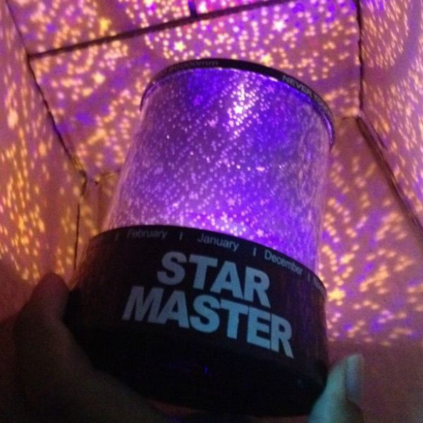 Starry Star Master Gift Led Night Light Unique Design Projector Lamp Multi Colors
