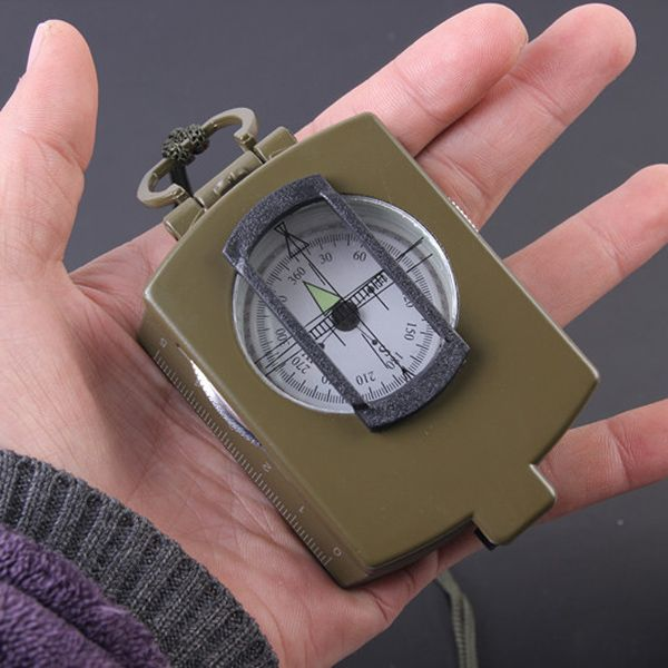 High Quality Metal Military Multifunction Noctilucence Compass