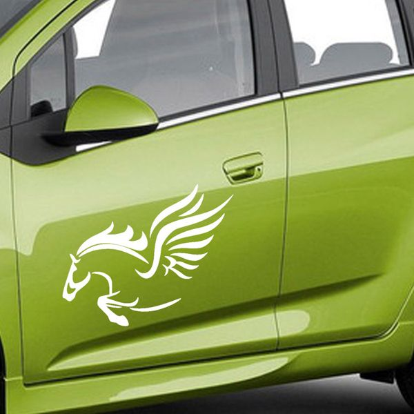 Fashion Waterproof Horse Pattern Car Sticker For Automotive Decorative Supplies
