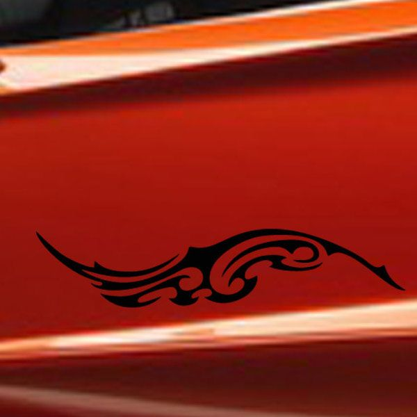 Fashion Waterproof Totem Pattern Car Sticker For Automotive Decorative Supplies