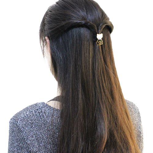 Chic Rhinestone Kitten Elastic Hair Band For Women