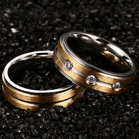 ONE PIECE Punk Alloy Gypsy Setting Ring For Men