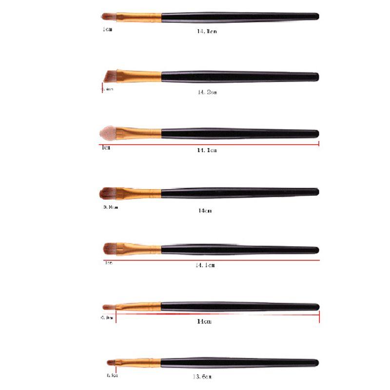 Stylish 20 Pcs Multifunction Plastic Handle Nylon Makeup Brushes Set