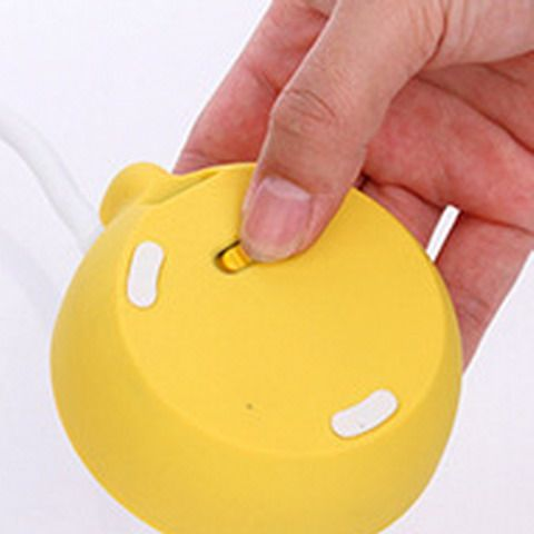 Cute Lemon Flexible LED Table Lamp Touch Control Intelligent Dimming