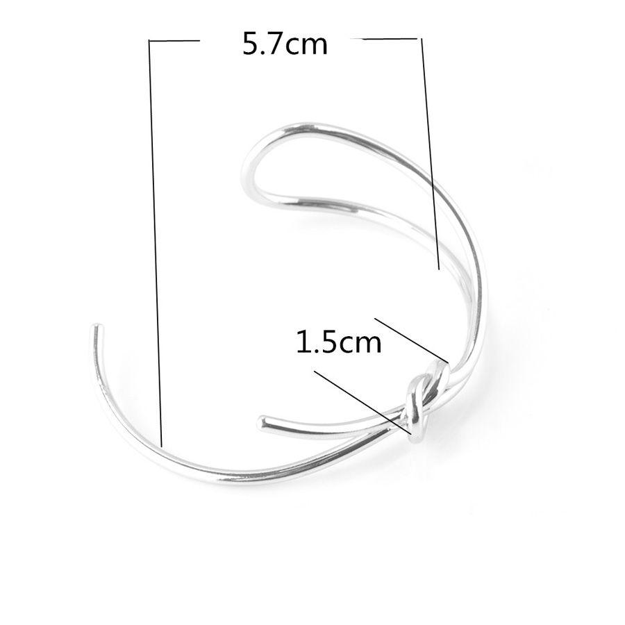Retro Style Bowknot Alloy Hollow Out Bracelet