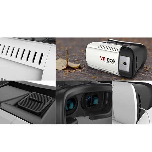 Stylish 3D Virtual Reality Video Glasses VR Box For 4.7 - 6.1 Inch Smartphone
