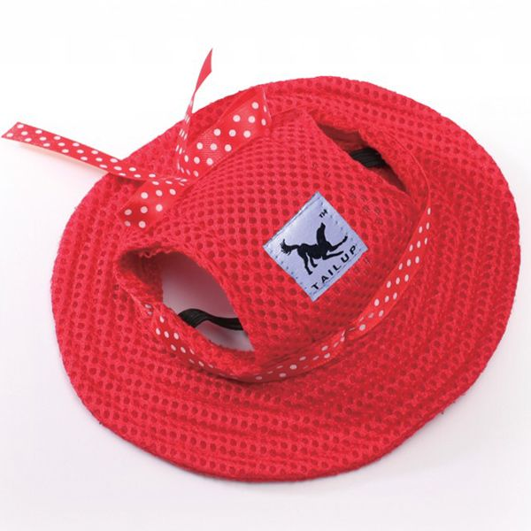 High Quality Breathable Mesh Fabric Pet Dog Sunhat