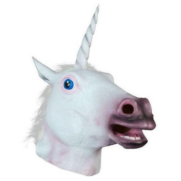 Halloween Prop Supplies Unicorn Mask Cosplay Prop