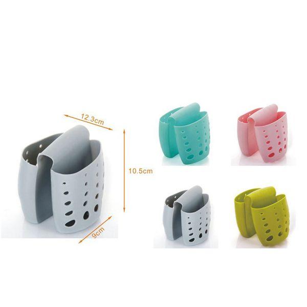 Hot Kitchen Storage Tool Sponge Leachate Sink Hanging Basket