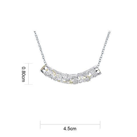 Bar Cut Out Noctilucent Necklace