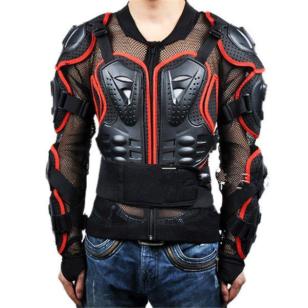 Black Safety Jackets Jerseys Men's Hockey Motorcycle Armor For Outdoor Sport