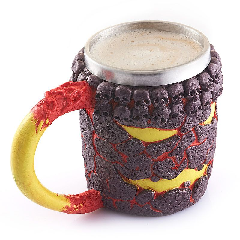 15OZ Creative Halloween Magma Monster Pattern Beer Cup For Bar Festive Decoration