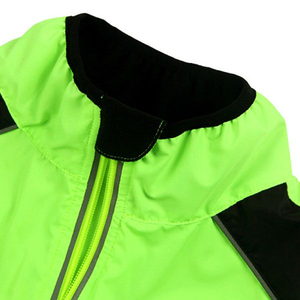 High Quality Long Sleeve Breathable Windproof Cycling Jacket For Unisex