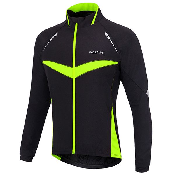 Hot Sale Long Sleeve Windproof Cycling Jacket For Unisex