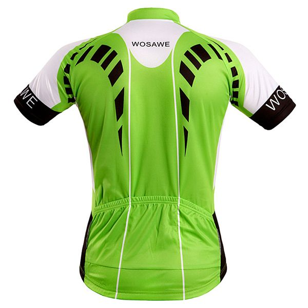 Fashion Full Zipper Summer Cycling Short Sleeve Jersey For Men