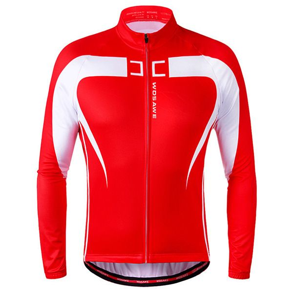 High Quality Long Sleeve Thermal Fleece Cycling Jacket For Unisex