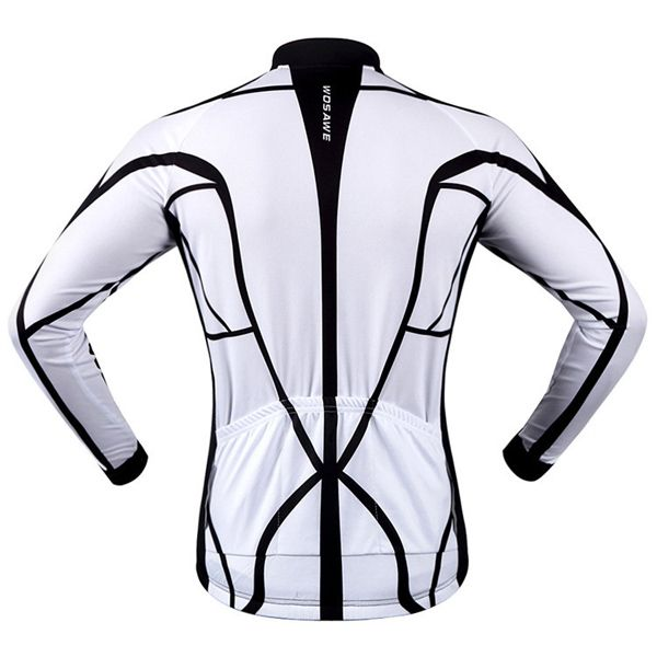 Fashion Muscle Pattern Breathable Quick Dry Cycling Long Sleeve Jersey For Unisex