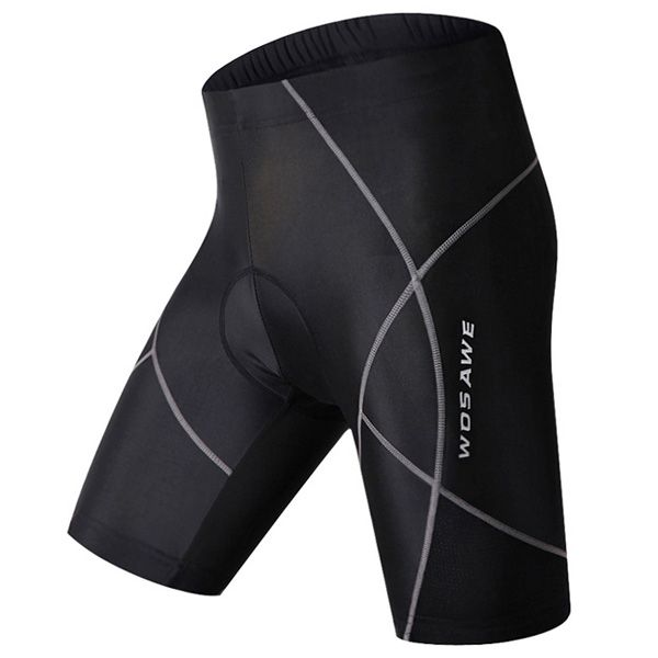Simple Multifunction Quick Dry Gel Padded Outdoor Cycling Shorts For Unisex