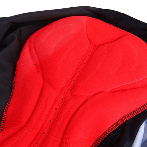 High Quality Stripe Pattern Quick Dry Gel Padded Outdoor Cycling Shorts For Unisex