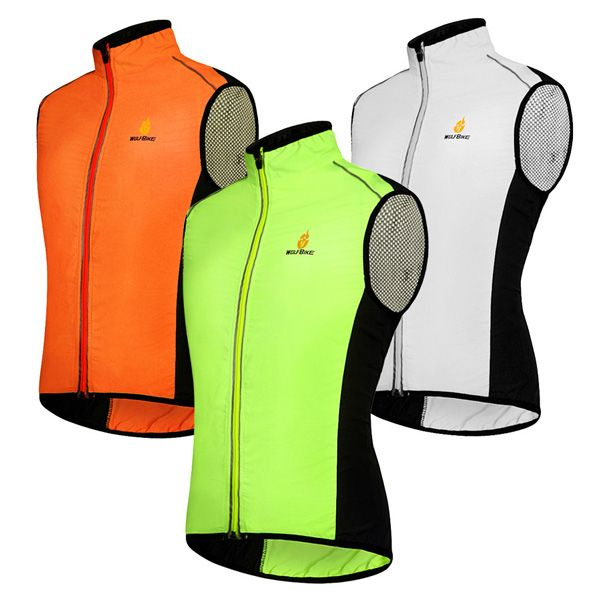 High Quality Breathable Windproof Cycling Waistcoat For Unisex