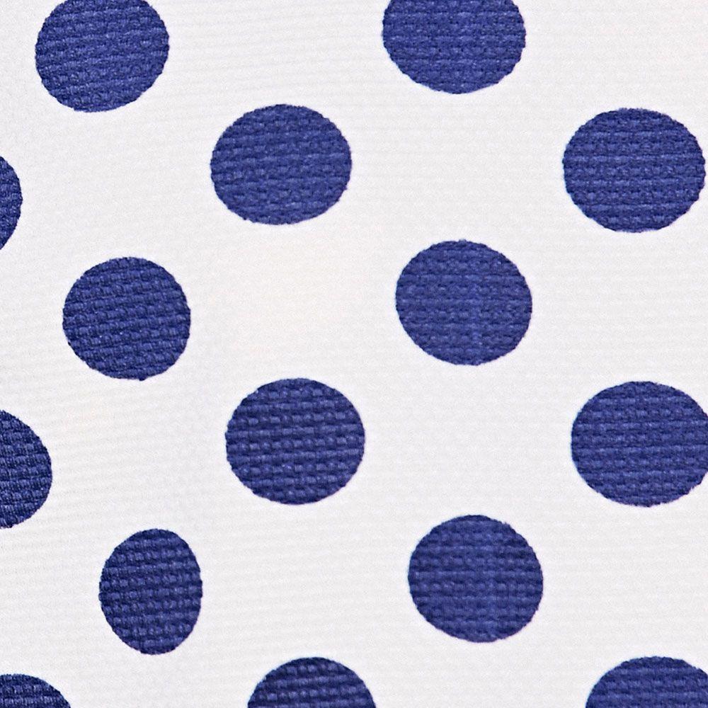 Casual Jewel Neck Polka Dot Short Sleeve Tee For Women