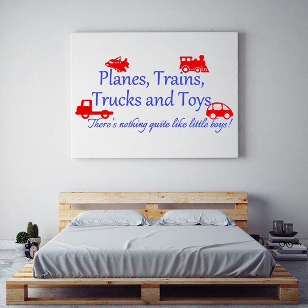 Sweet Cartoon Vehicle and Letters Pattern DIY Wall Sticker For Children's Room